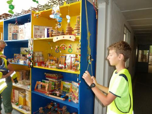 Výlet - Muzeum výroby hraček v Jiřetíně pod Bukovou, Tanvaldský Špičák
