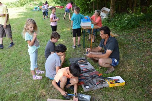 Dětský den u rybníka na Podháji