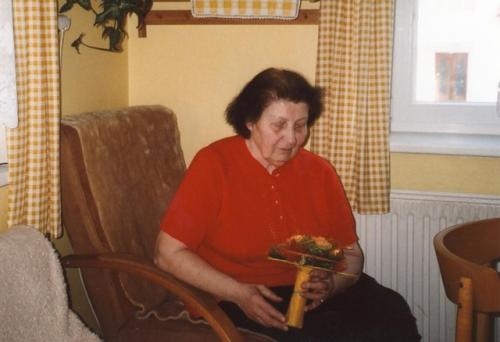 Životní jubileum květen 2010 Božena Egertová