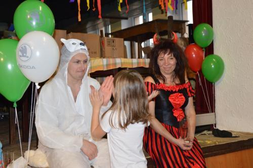 Dětský maškarní karneval v KD na Podháji únor 2020