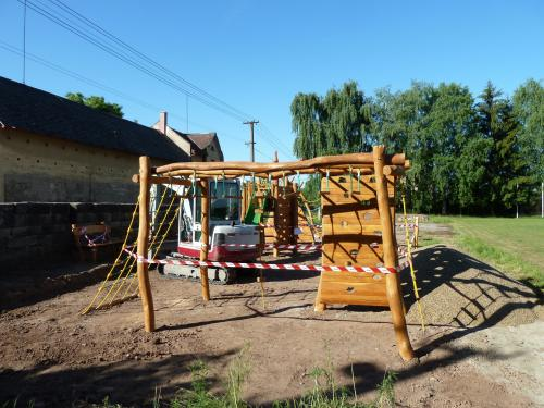 Nové herní prvky pro děti na hřišti v Modřišicích